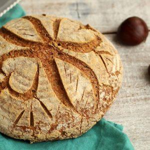 Pain sans gluten à la farine de sarrasin et châtaigne