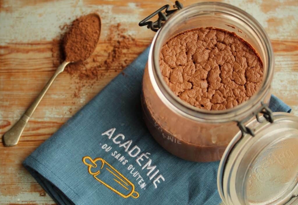 Levain sans gluten au chocolat