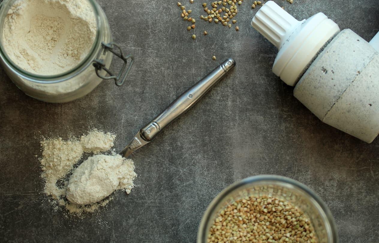 Moudre son grain pour faire ses farines sans gluten
