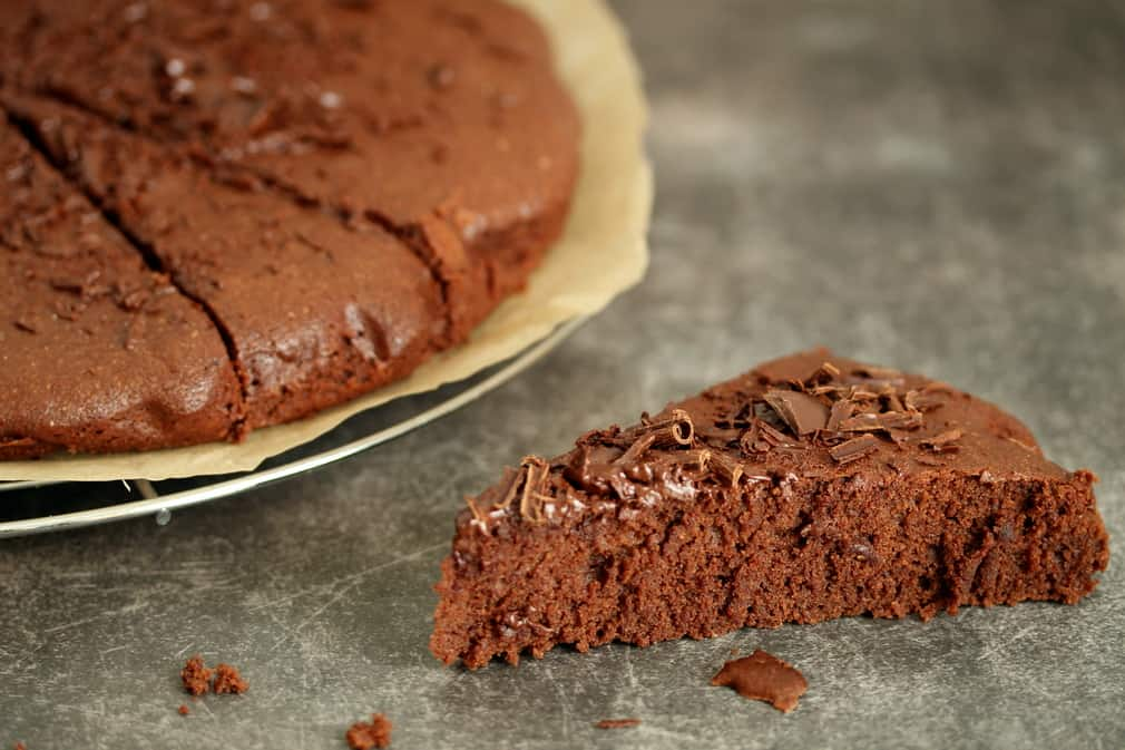 Gâteau chocolat sans gluten et sans oeufs