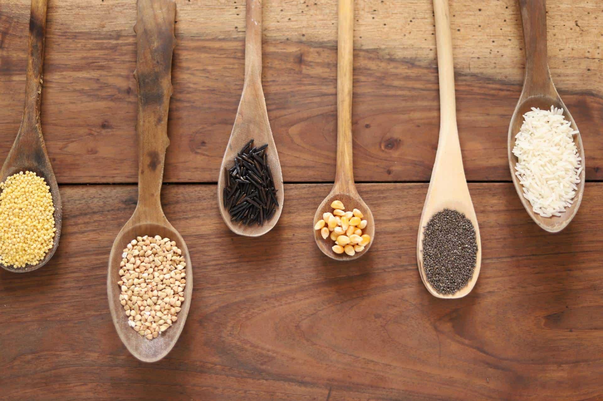 Farines sans gluten - quantités