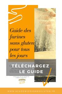 Guide des farines sans gluten