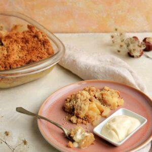 Recette de crumble sans gluten sans sucre