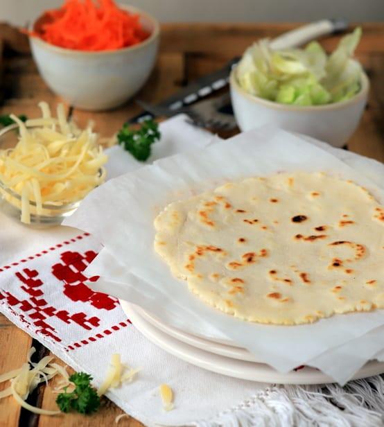 Tortilla de maïs sans gluten