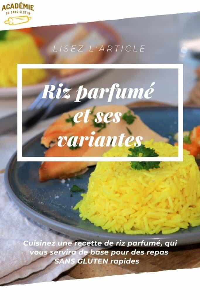 Recette de riz parfumé