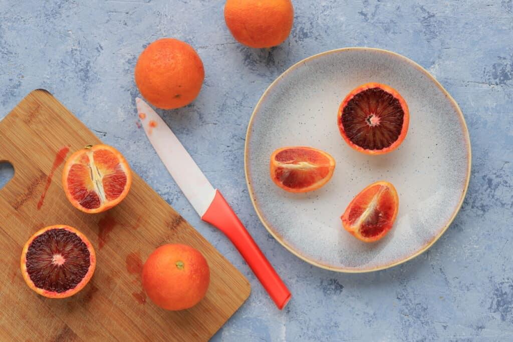 Marmelade à l'orange sanguine