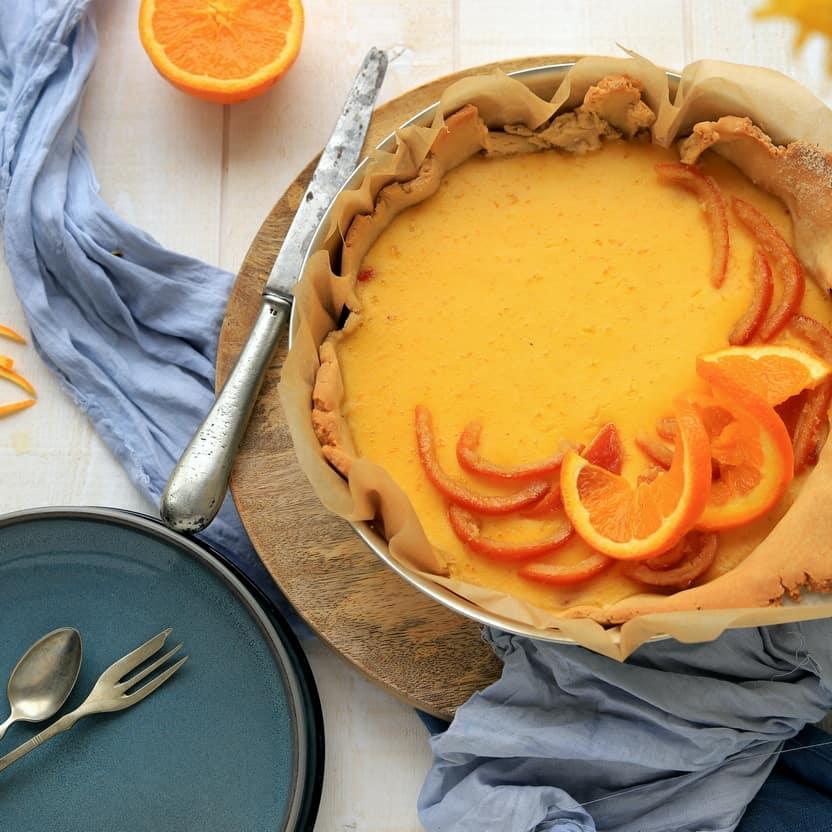 Tarte passion orange